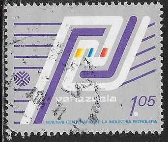Venezuela 1203 Used - Centenary of the Oil Industry