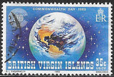 Virgin Islands 444 Used - Commonwealth Day - Globe