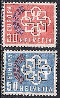 Switzerland 376-377 MNH - Europa - European Conference