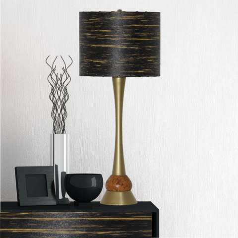 Vintage Table Lamp #1490 - Modilumi