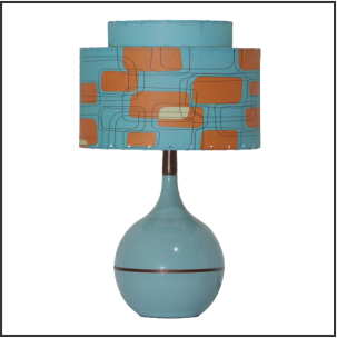 Bobbie Table lamp #1844 - Modilumi