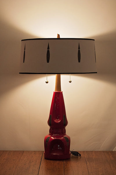 Restored Lamp and Shade 98