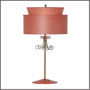 Retro Table Lamp #1873