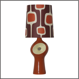 Retro Table Lamp #1888 - Modilumi