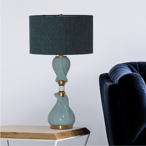 Vintage Table Lamp #1596 - Modilumi