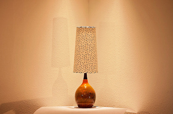 Restored Lamp and Shade 91