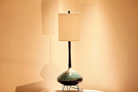 Restored Lamp and Shade 89