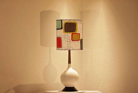 Ceramic Lamp and Shade 95