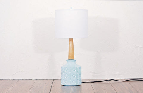 Restored Lamp and Shade 200