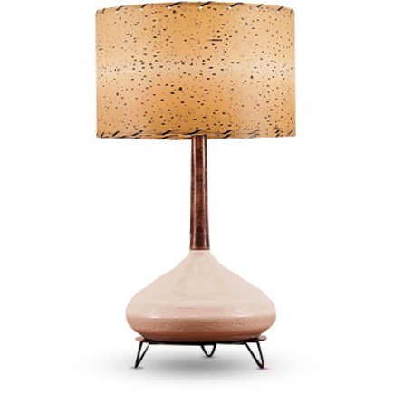 Ceramic Lamp and Shade 202