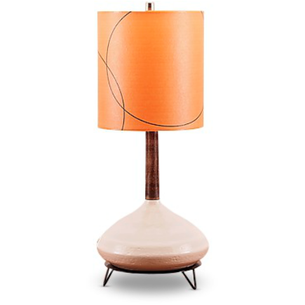 Ceramic Lamp and Shade 204