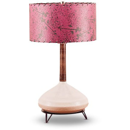 Ceramic Lamp and Shade 206 - Modilumi