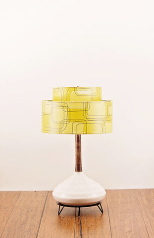 Ceramic Lamp and Shade 209