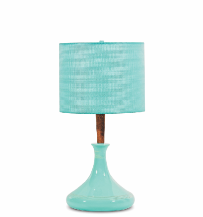 Total Turq Table Lamp
