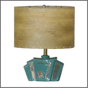 Retro Table Lamp #1859 - Modilumi