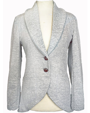 Women Equestrian Jacket Gray/Fleece