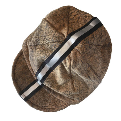 Leather Cycling Cap