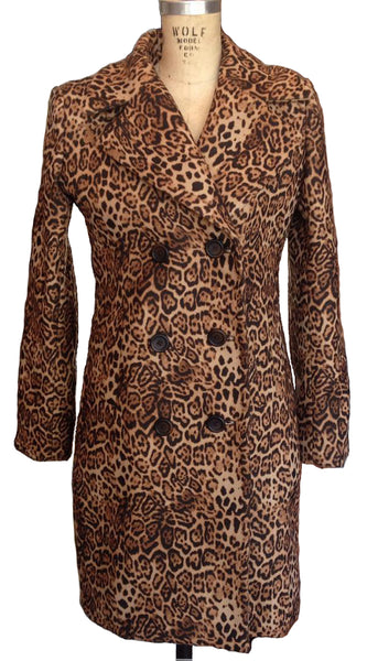 Upside Cyclestyle Women's Leopard Print Coat