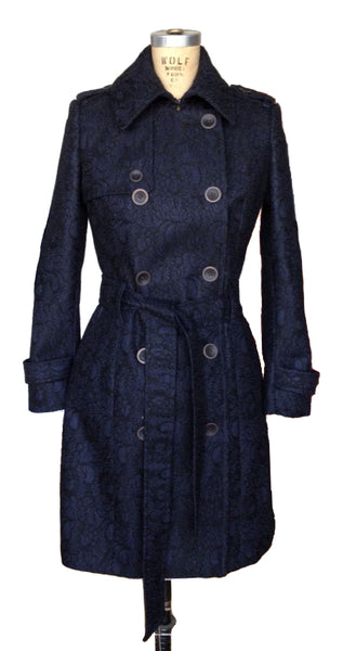 Upside Cyclestyle Women's Trench Coat in Navy