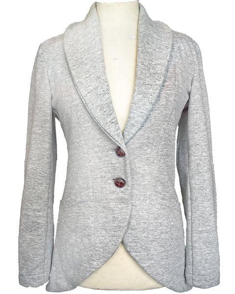 Upside Cyclestyle Women's Fleece Equestrian Jacket in Peppered Grey