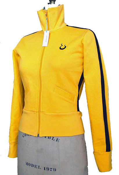 Upside Cyclestyle Women's Fleece Jacket in Yellow & Black
