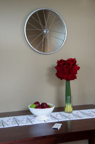 Bicycle-Themed Wall Mirror