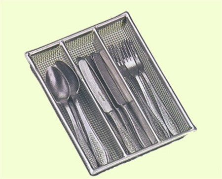 Stainless Steel Doll Cutlery Set in Wooden Box