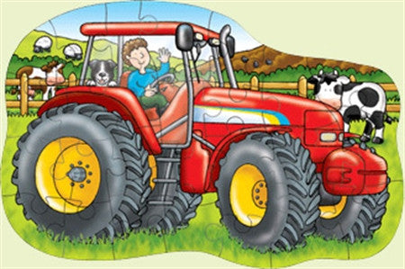 Orchard Toys Big Red Tractor 25 Piece Shaped Floor Puzzle