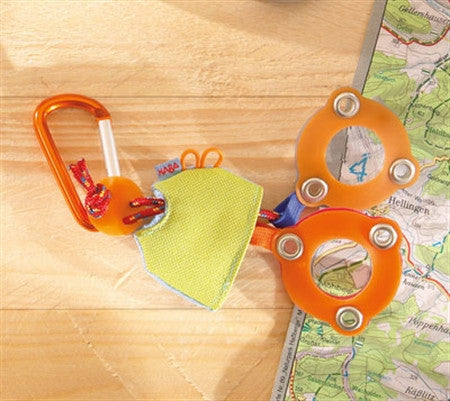 Haba Terra Kids Pocket Magnifying Glass / Outdoor Summer Toys for Hiking and Camping