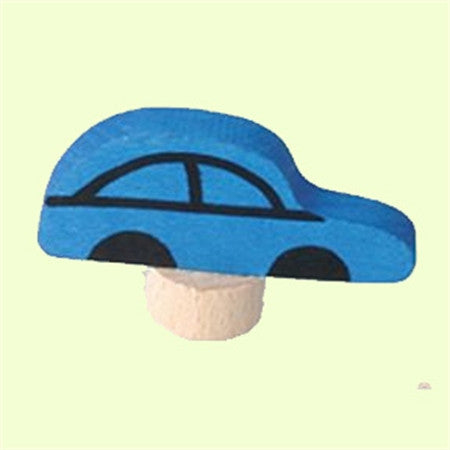 Grimm's Blue Car Celebration Ring Decal
