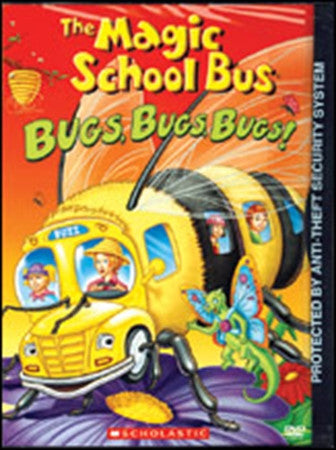 Magic School Bus: Bugs Bugs Bugs! Educational DVD