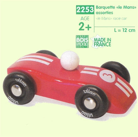 Vilac Le Mans Red Wooden Race Car