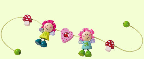 Haba Flower Fairies Stroller Toy