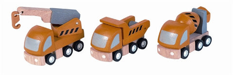 Plan Toys Highway Maintenance Cars