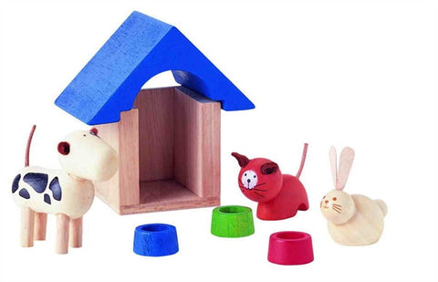 Plan Toys Dollhouse Pets and Accessories