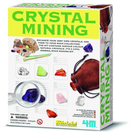 4M Crystal Mining Science Kit