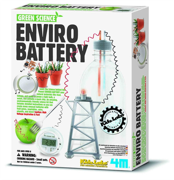 4M Enviro Battery - Green Science Kit