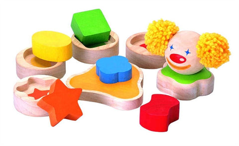 Plan Toys Stacking Clown Wooden Children Stacking Toy