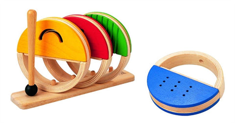 Plan Toys Wooden Toy Percussion Set