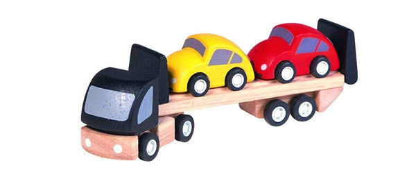 Plan Toys Car Transporter Truck