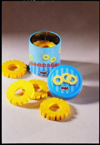 Haba Pineapple Rings in a tin can