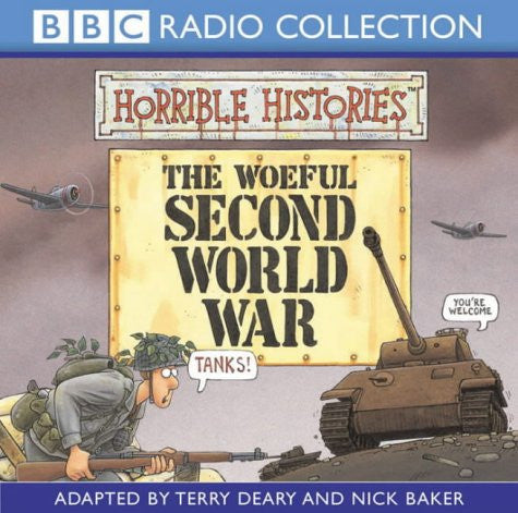 Horrible Histories The Woeful Second World War Audio CD