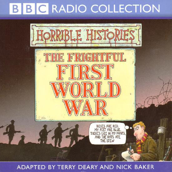 Horrible Histories The Frightful First World War Audio CD