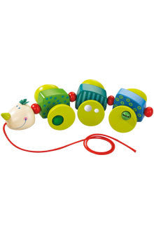 Haba Pull Toy Cory Caterpillar
