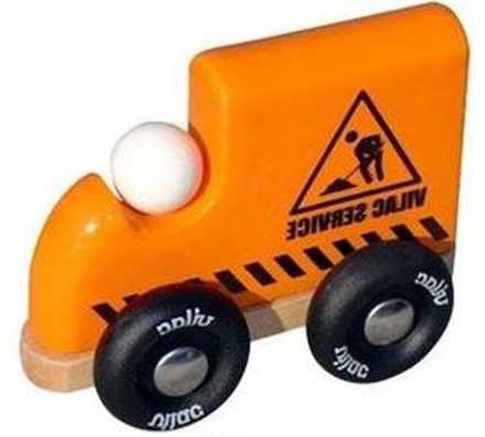 Vilac Mini Orange Construction Truck