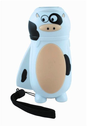 Farm Flashlight Cow - Ecotronics, kid-powered flashlights