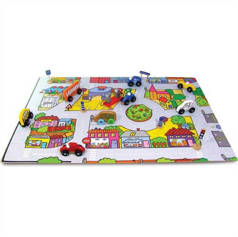 Vilac City Circuit Floor Puzzle (48 piece)