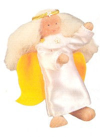 Kathe Kruse Small Angel Flexible Doll for Nativity Set