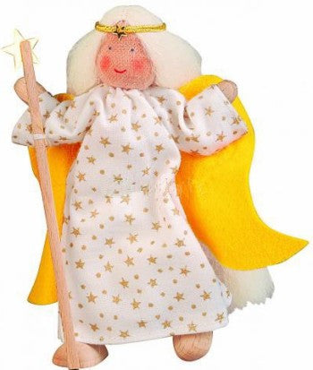 Kathe Kruse Big Angel Flexible Doll for Nativity Set