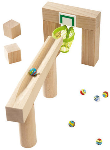 Haba Basketball Hoop Ball Track Accessory Set